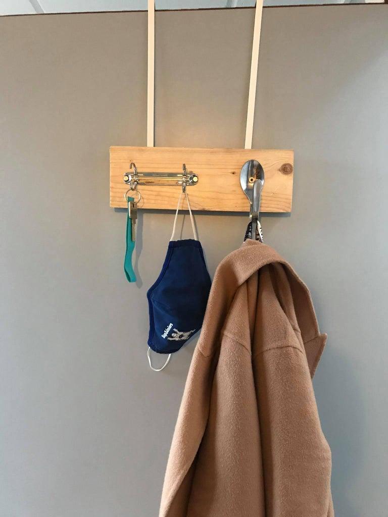 Homemade Key Ring and Coat Hanger