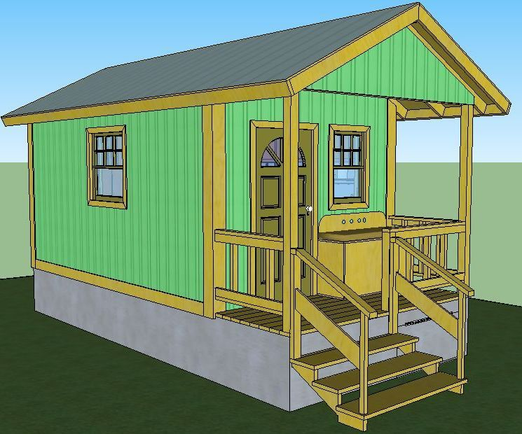 Quixote Off-Grid Cabin Under $5000