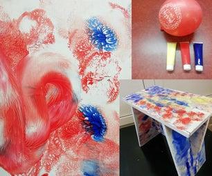 气球涂料/可折叠工作台/凳子