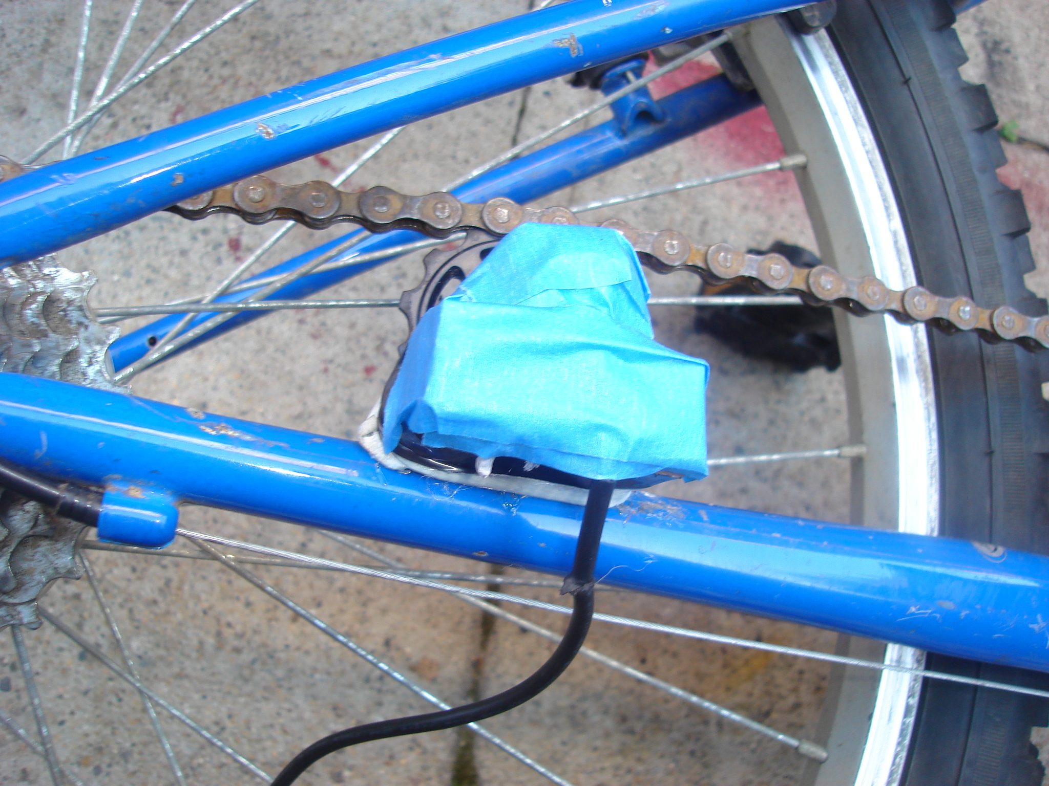 Bike that charges your cell phone as you ride!