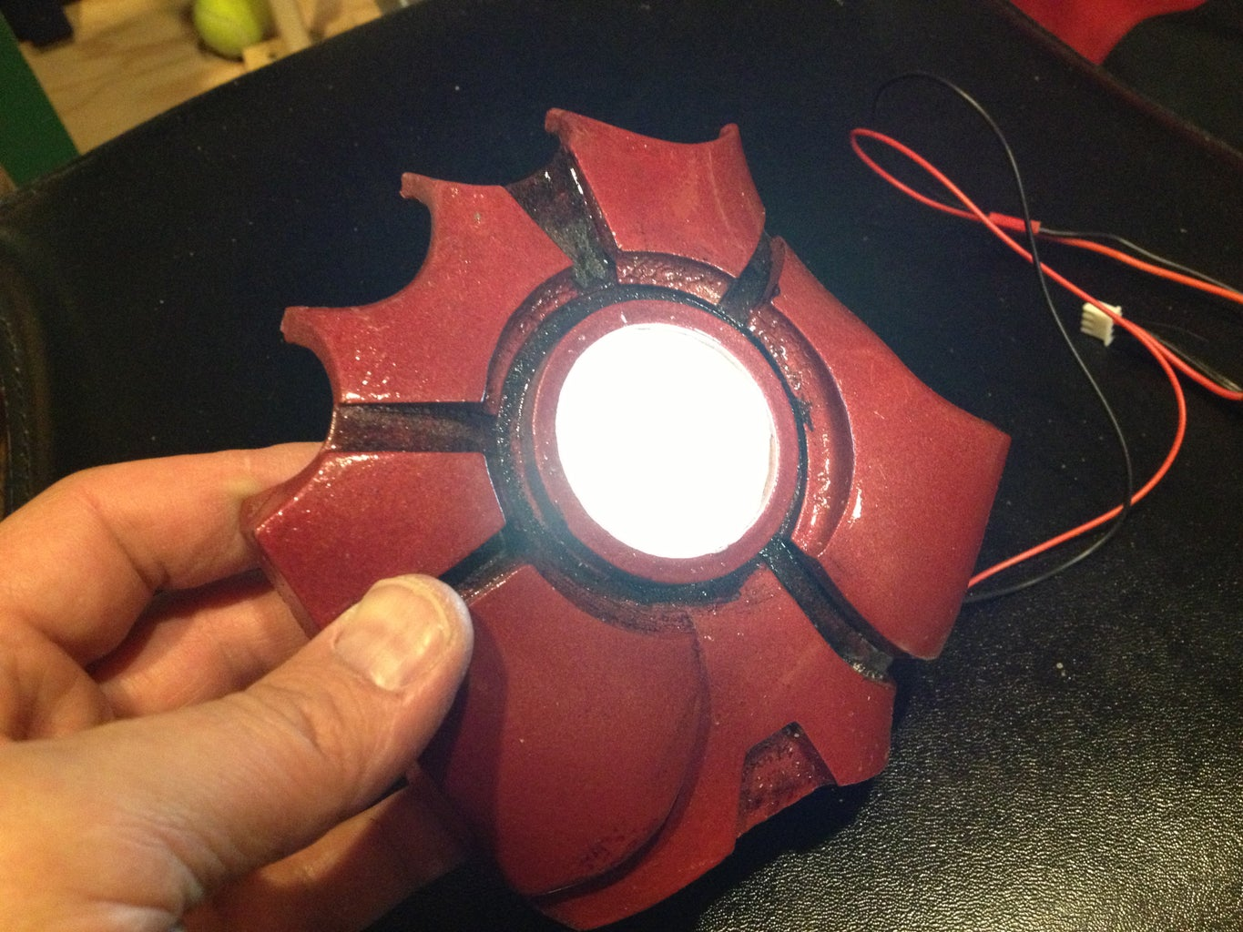 Chest and Repulsor Lights