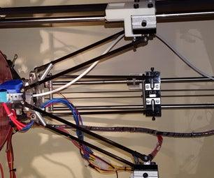 Cheap 3D Delta Printer Improvements