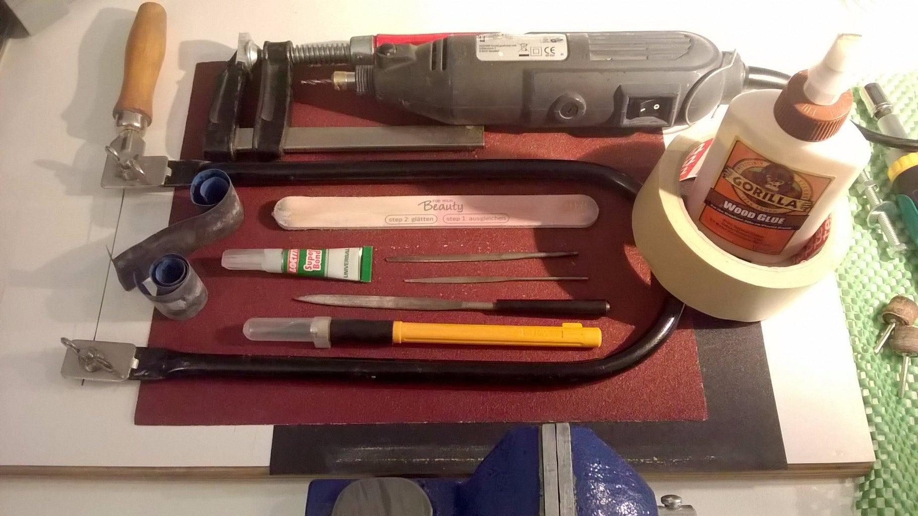 Materials, Tools, Template