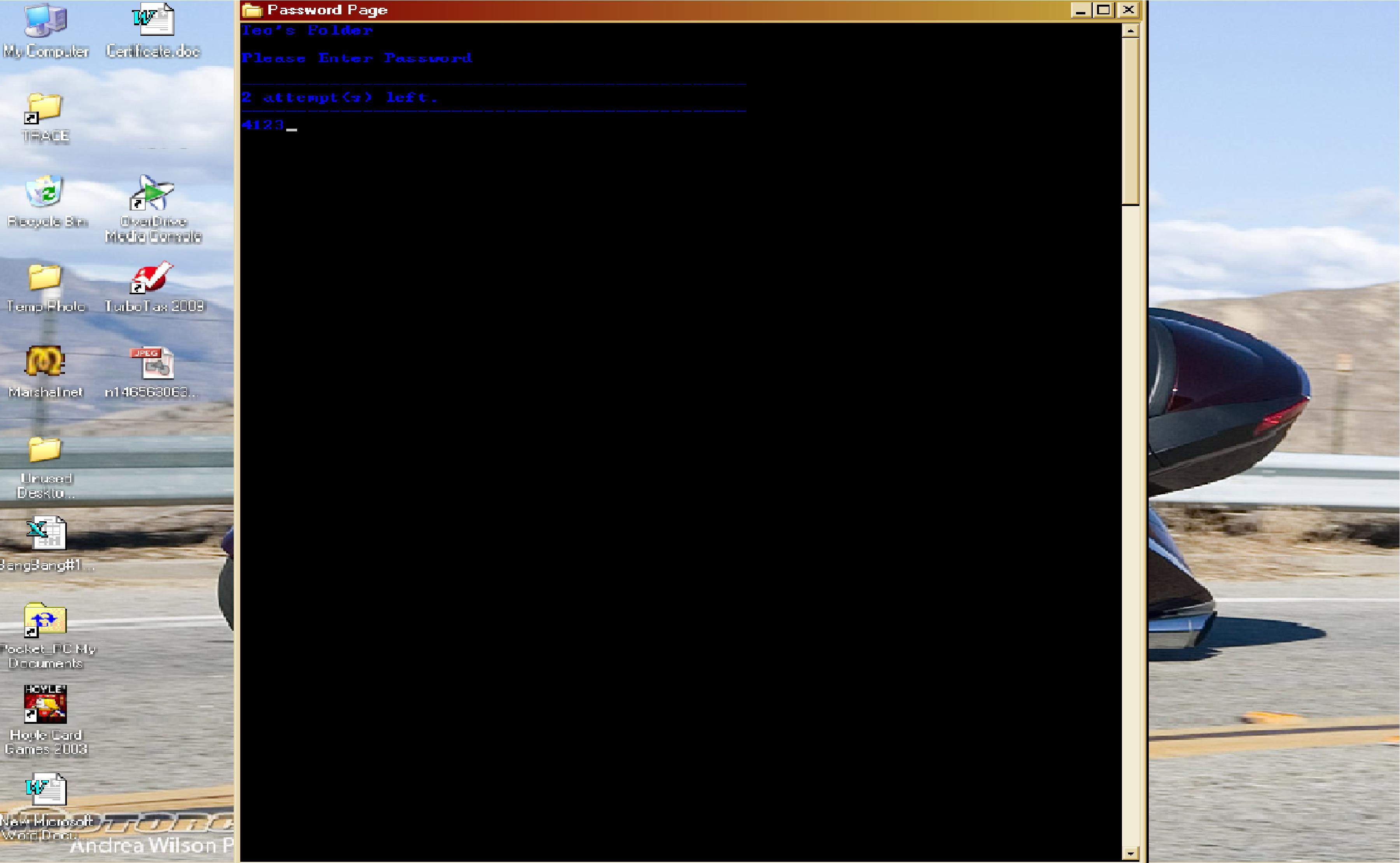 Big Helpfull Batch File Menu