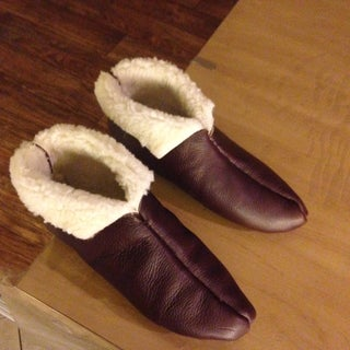 Simple Shearling Boots