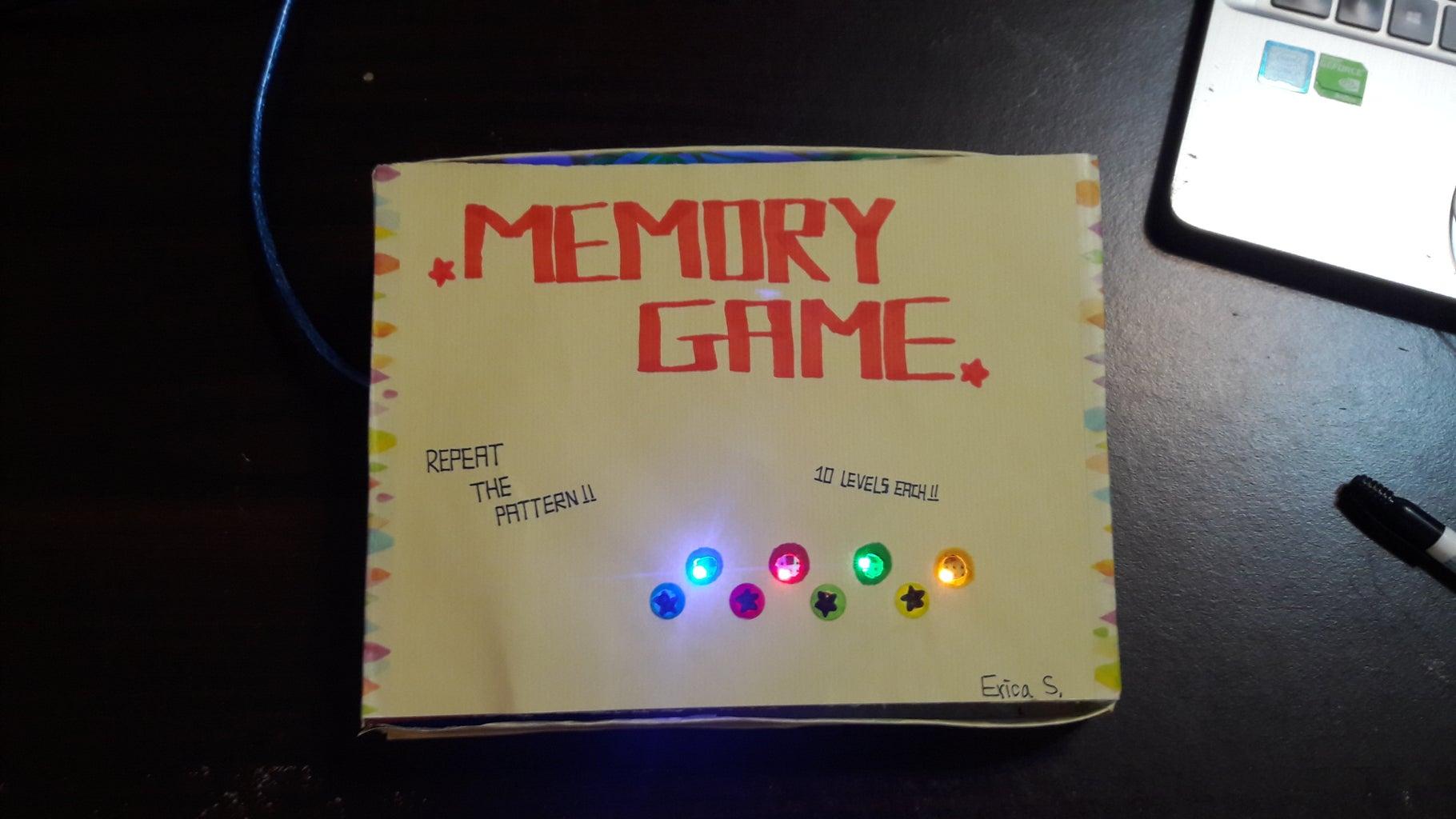 Memory Game Box