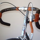 Handlebar barwrap/grips - whipping and shellac covering