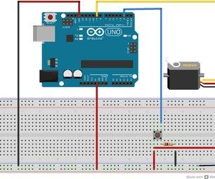 Arduino & Servo Motor to Your Music Box