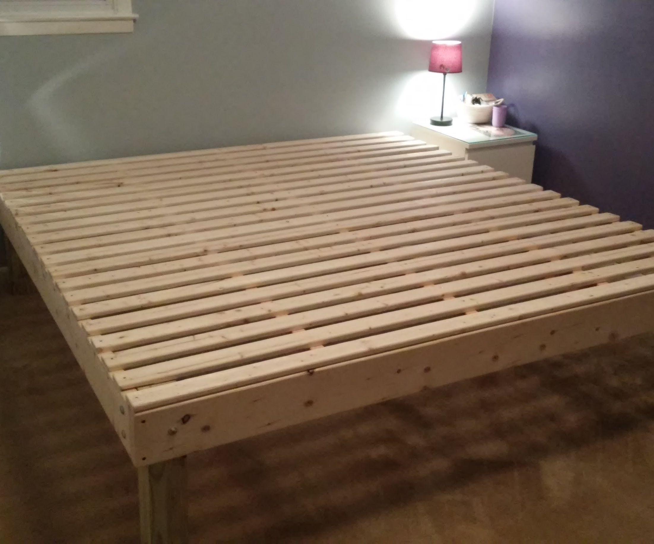 Foam Mattress Bed Frame for under $100