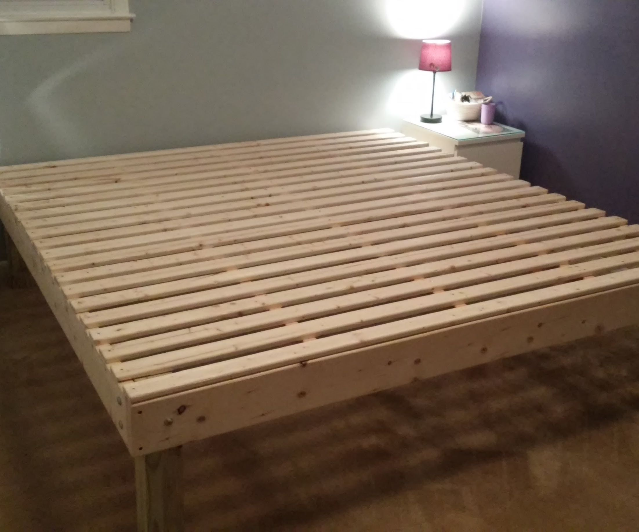 Foam Mattress Bed Frame For Under 100 9 Steps With Pictures Instructables