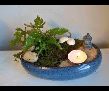DIY Miniature Meditation Garden Tutorial