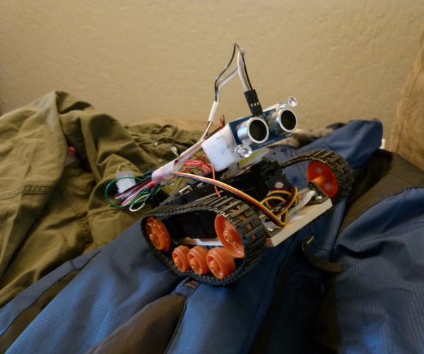 Arduino Obstacle Avoidance Robot (NEW SCHEMATIC)