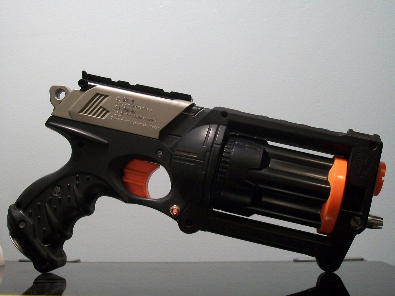 Black Light Nerf Gun!