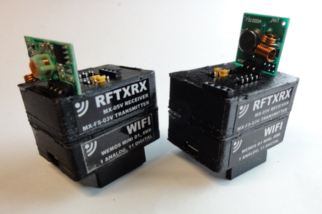 IOT123 - D1M BLOCK - RFTXRX Assembly