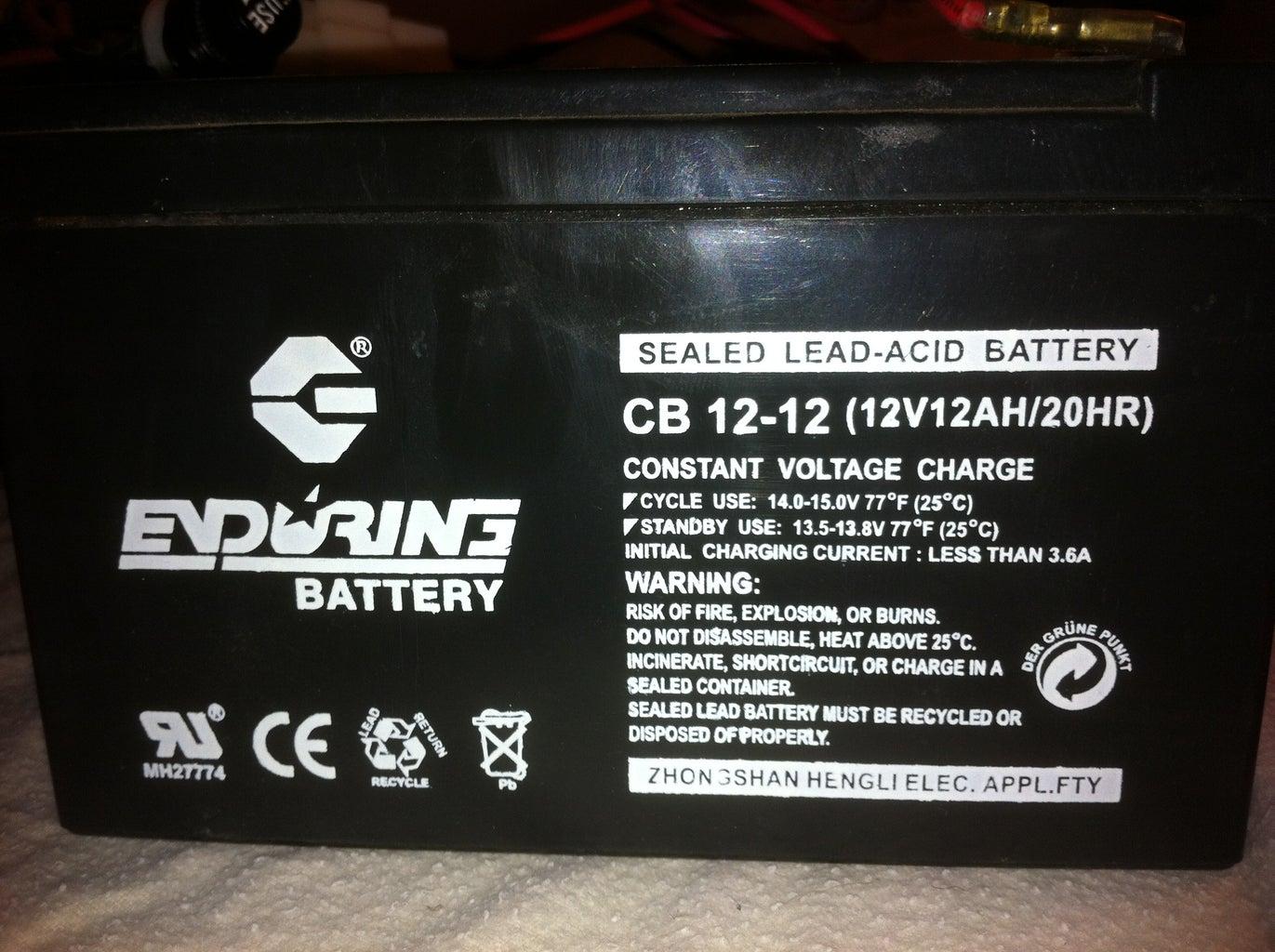Order New Batteries