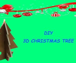 Christmas Decoration : How to Make 3D Christmas Tree