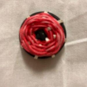 Fashion Button - Woven Wheel Stitch