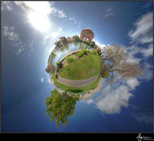 How to Create a HDR PanoPlanet (Polar Panorama)