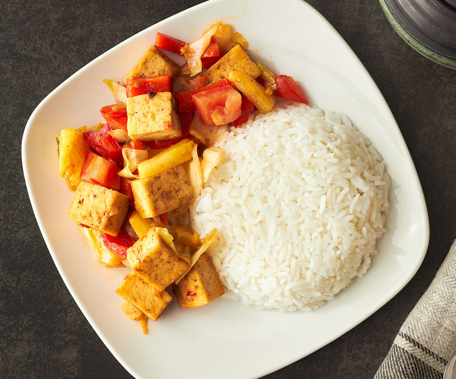 Sweet & Sour Chilli Tofu