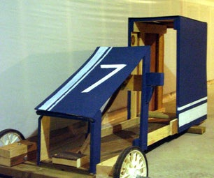 The Recycled Soapbox Racer