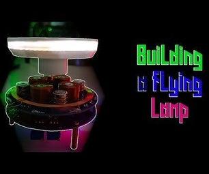 Freely Levitating Lamp