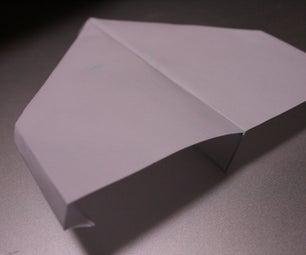Adjustable Paper Airplane!