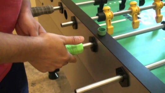 Dissemble the Rods From the Foosball Table
