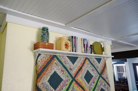 Quilt Shelf Wall Hanging