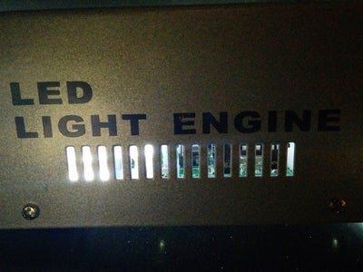 Powering the LED Light Engine