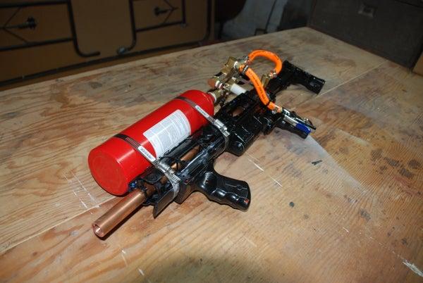 Grappling Hook Launcher