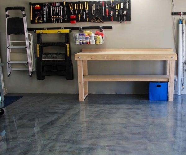 Garage Floor Before/After