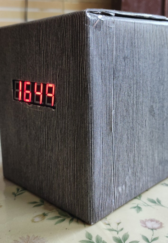 Arduino Digital Clock Using DS1302