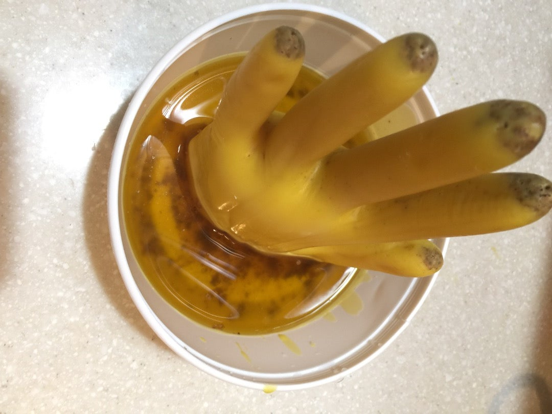 Peel the Glove Off and Make a Base