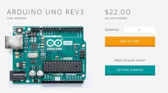 Step 3: Buy the Arduino Board