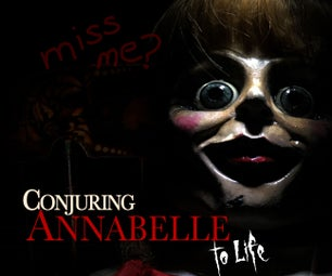 Conjuring Annabelle Costume! HALLOWEEN UPDATE!