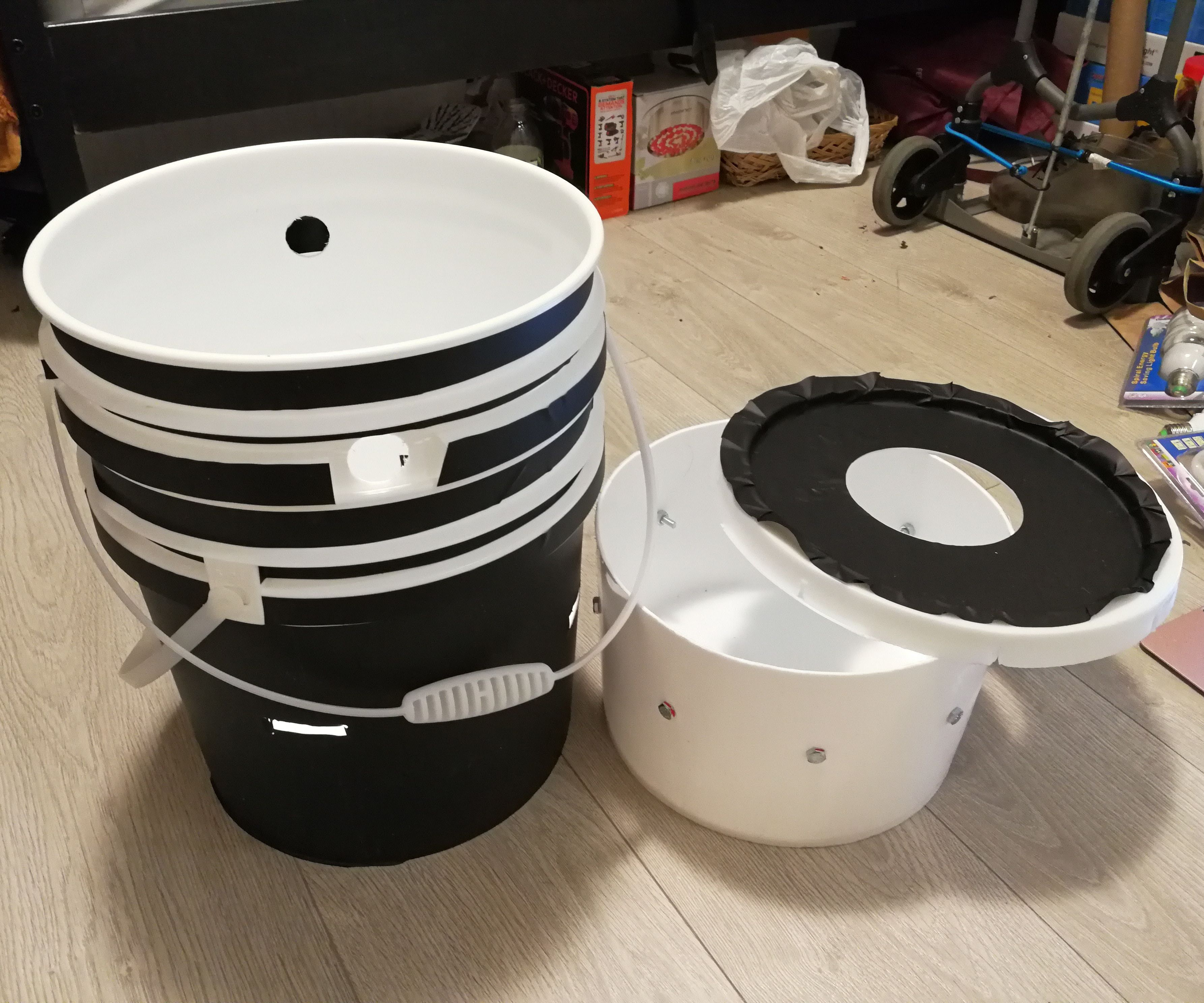 How to Apply Space Bucket Blackout Vinyl
