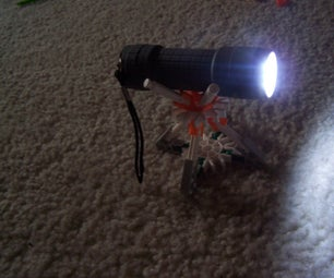 Knex Flashlight/baseball Holder