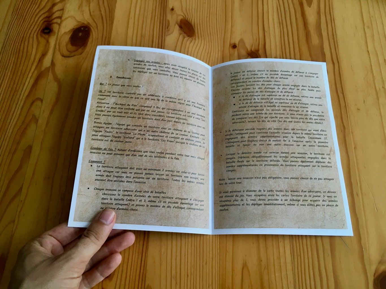 Game Rule Book
