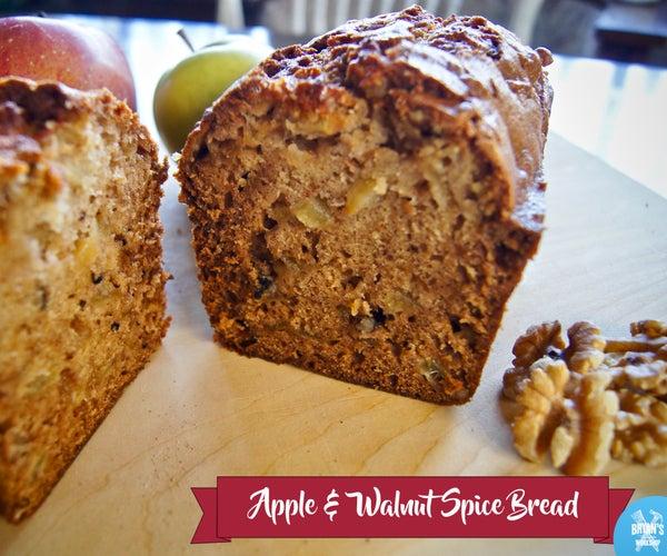 Apple & Walnut Spice Bread!