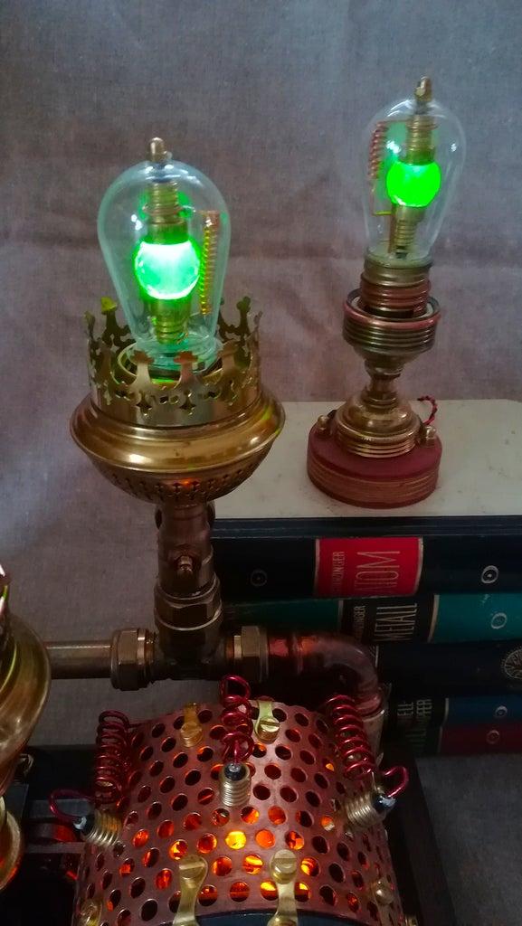 The Uranium Glass Signal Light