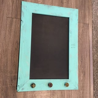 DIY Rustic Magnetic Chalkboard