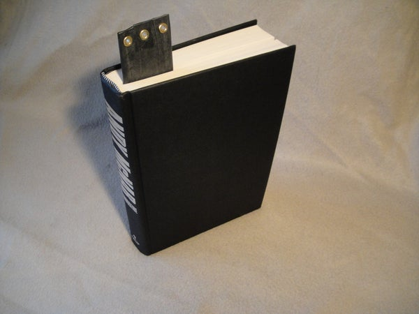 Up-cycle an Inner Tube Into a Bookmark