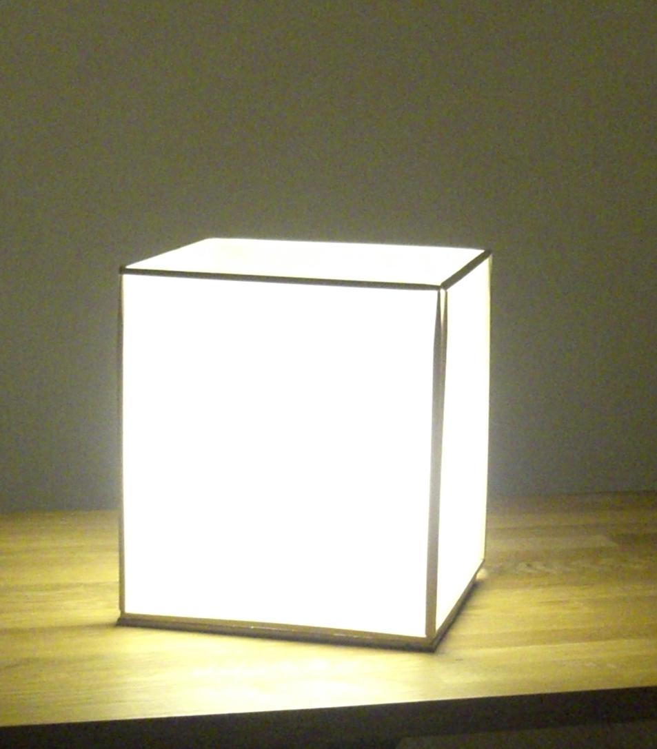 shoji-style table lamp