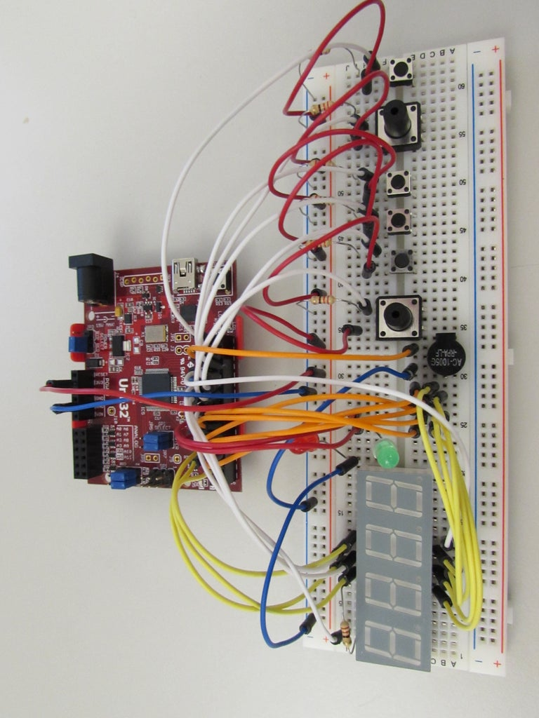 Setting Up the Circuit- LED's and Speaker