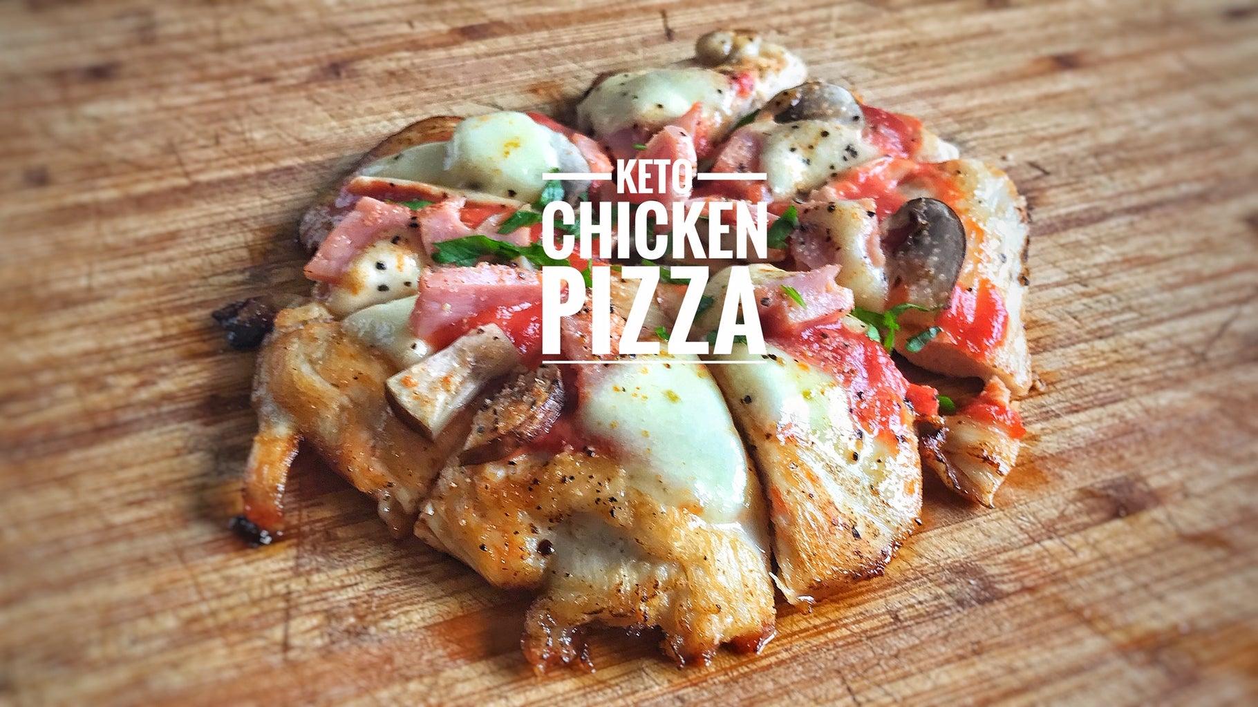 Keto - Chicken Pizza Crust