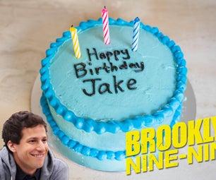 杰克·佩拉尔塔的蓝蛋糕(布鲁克林99)和秘密的软糖熊
