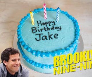 Jake Peralta's Blue Cake (Brooklyn 99) With Secret Gummy Bears