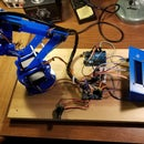 Arduino Controlled Robotic Arm W/ 6 Degrees of Freedom