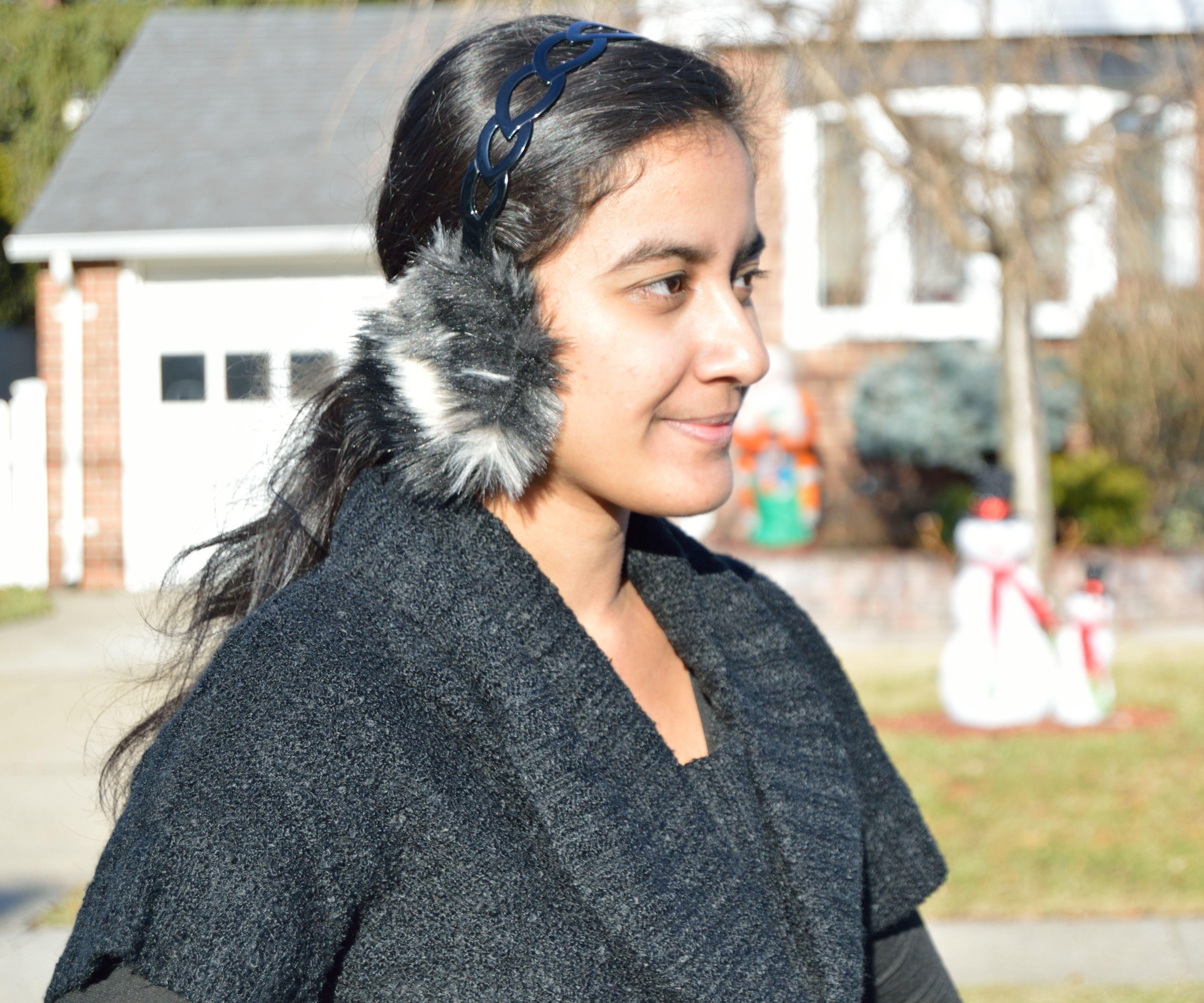 DIY Faux fur Ear muffs