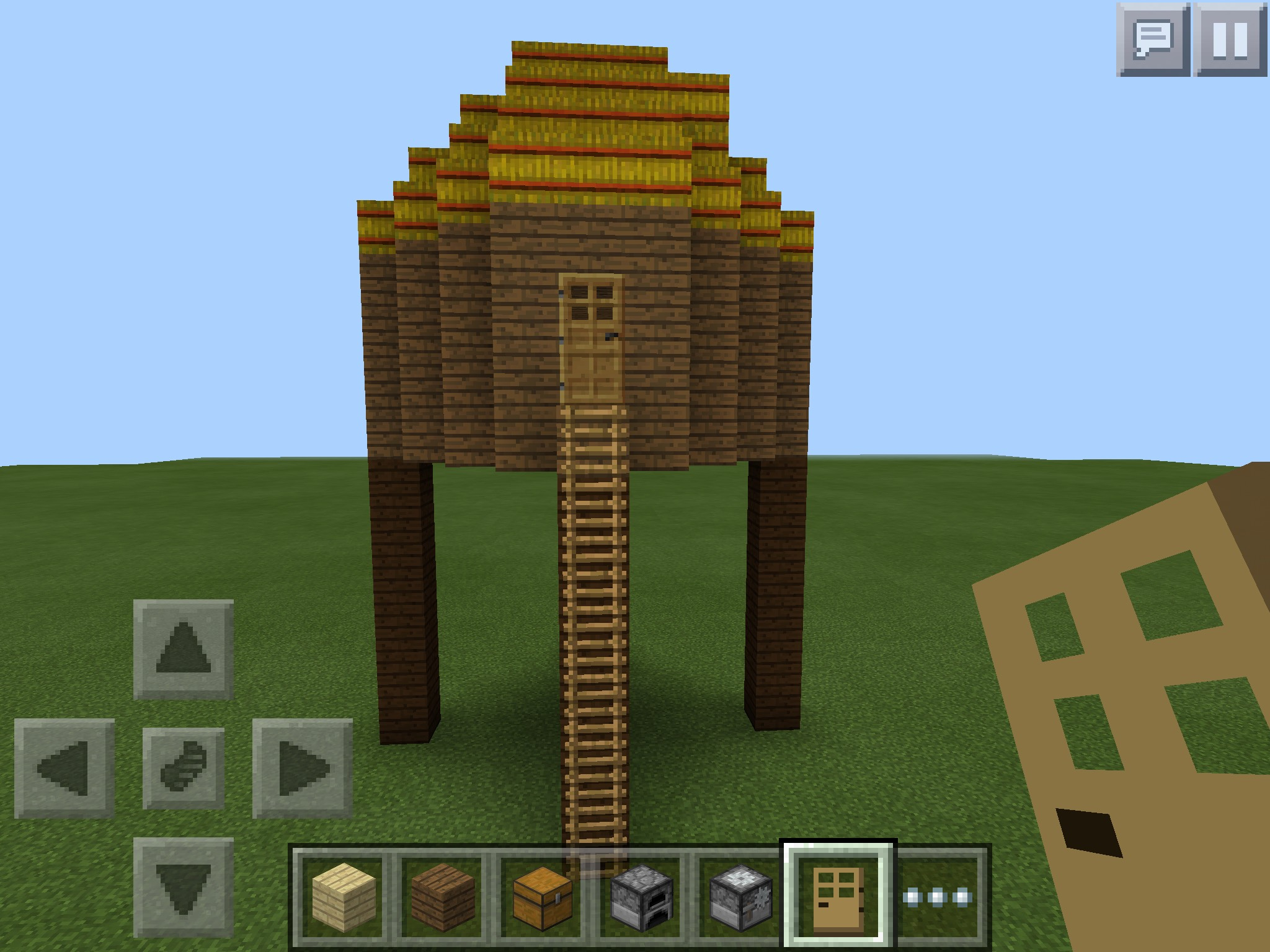 Link Hut In Minecraft